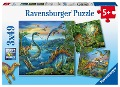 Faszination Dinosaurier. Puzzle 3 X 49 Teile -