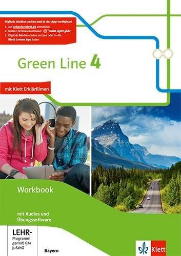 Green Line 4. Ausgabe Bayern. Workbook mit Audio-CD und Übungssoftware 8. Klasse -