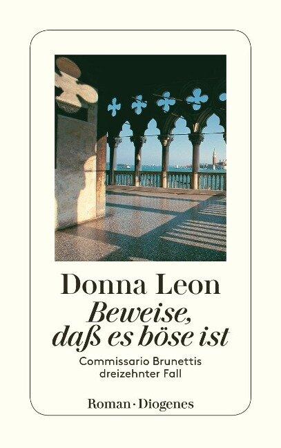 Beweise, daß es böse ist - Donna Leon