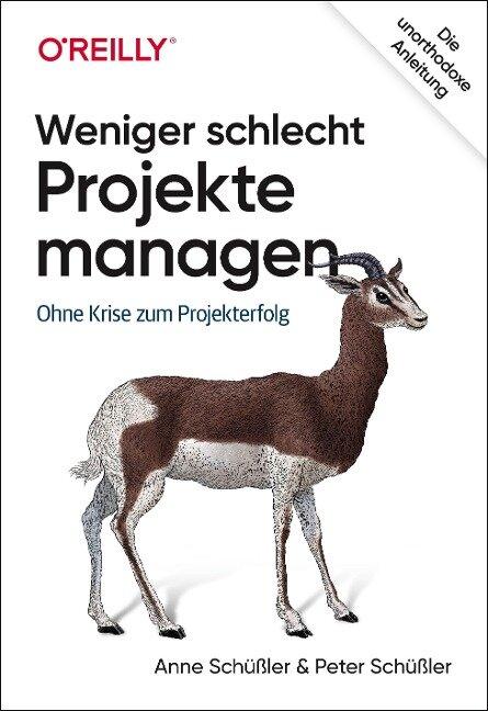 Weniger schlecht Projekte managen - Anne Schüßler, Peter Schüßler