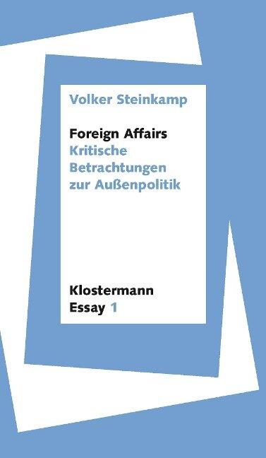 Foreign Affairs - Volker Steinkamp