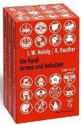Die Kanji lernen und behalten Bände 1 bis 3. Neue Folge - James W Heisig, Robert Rauther