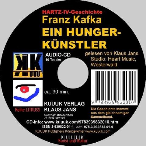 Ein Hungerkünstler - Franz Kafka