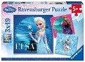Disney Frozen: Elsa, Anna & Olaf. Puzzle 3 x 49 Teile -