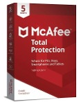 McAfee Total Protection 5 Device (Code in a Box). Für Windows Vista/7/8/8.1/10/MAC/Android/iOs -