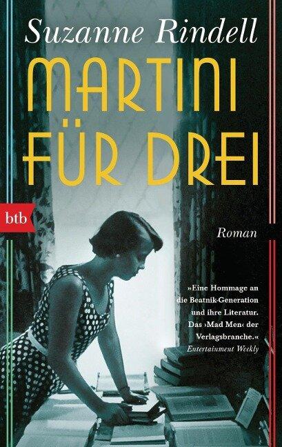 Martini für drei - Suzanne Rindell