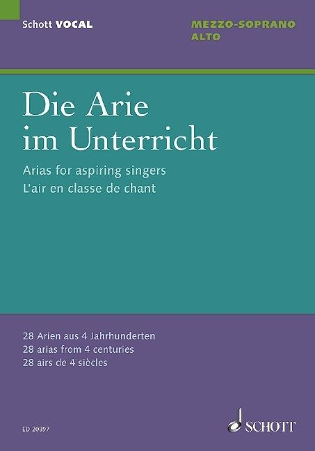 Die Arie im Unterricht -