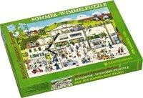 Wimmel-Puzzle Sommer - Rotraut Susanne Berner