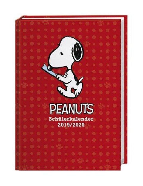 Peanuts 17-Monats-Kalenderbuch A6 - 2020 -