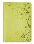 Campustimer Lime Flowers A6 2016/2017 -