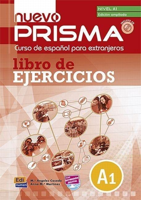 nuevo Prisma A1 - Lib.ejerc. + CD ampliado - Ana María Rúiz Martínez, María Ángeles Casado Pérez