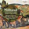 COMPLETE VIOLIN & VIOLA SONATAS - Milhaud, D.