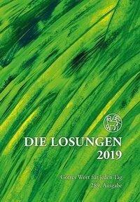 Die Losungen 2019 für Deutschland - Geschenkausgabe Normalschrift -