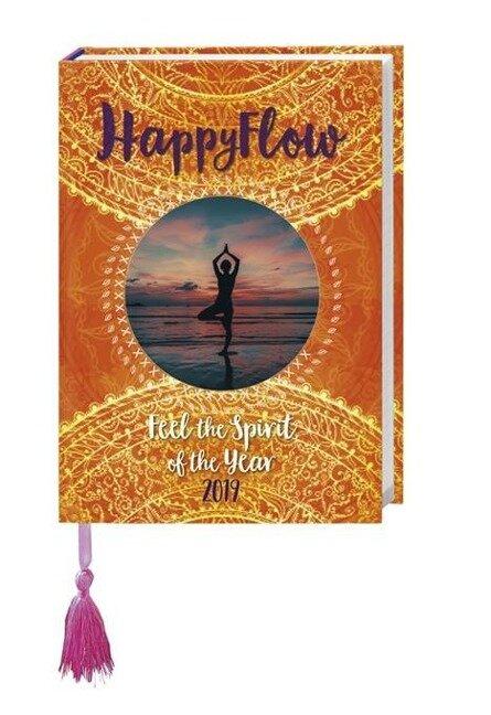 HappyFlow Kalenderbuch A5 - Kalender 2019 -