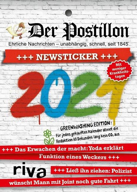 Der Postillon +++ Newsticker +++ 2021 - Stefan Sichermann