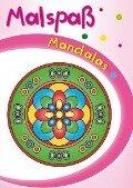 Rosa Malspaß Mandalas -
