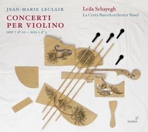 Jean-Marie Leclair: Concerti per Violino Opp. 7 & 10 , Nr. 1 & 3 - Jean-Marie Leclair