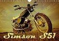 Simson S51 (Wandkalender 2017 DIN A4 quer) - Maxi Sängerlaub