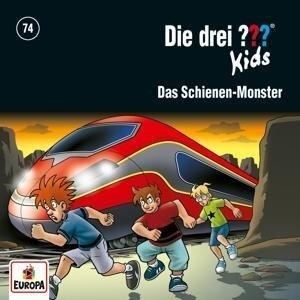 Die drei ??? Kids 74: Das Schienen-Monster - Boris Pfeiffer