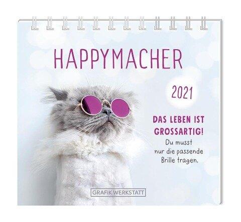 """Mini-Kalender 2021 """"Happymacher für dich!"""" -"""