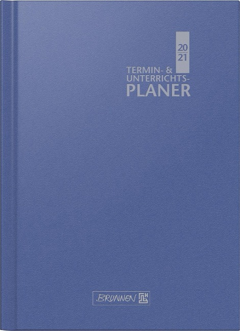 BRUNNEN 1075760301 Wochenkalender/Lehrerkalender 2020/2021 Termin- & Unterrichtsplaner, Lehrer-Sortiment -
