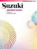 Suzuki Recorder School (Alto Recorder) Recorder 2 -