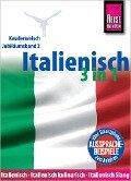 Italienisch 3 in 1: Italienisch Wort für Wort, Italienisch kulinarisch, Italienisch Slang - Michael Blümke, Ela Strieder