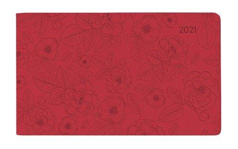 Ladytimer TO GO Deluxe Coral 2021 - Taschen-Kalender -