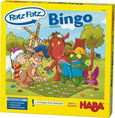 Ratz Fatz Bingo - Hajo Bücken