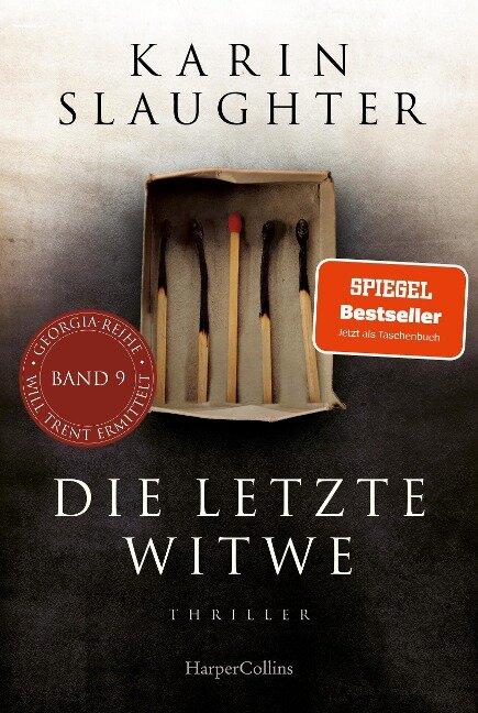 Die letzte Witwe - Karin Slaughter