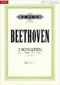 Sonaten op. 49 g-Moll Nr. 1 / G-Dur Nr. 2 - Ludwig van Beethoven