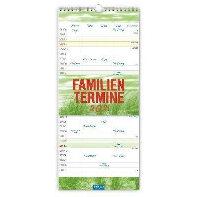 "Familienkalender ""Farben"" 2021 -"