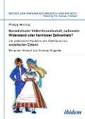Sozialistische Völkerfreundschaft, nationaler Widerstand oder harmloser Zeitvertreib? Zur politischen Funktion der Volkskunst im sowjetischen Estland - Philipp Herzog