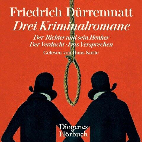 Drei Kriminalromane - Friedrich Dürrenmatt
