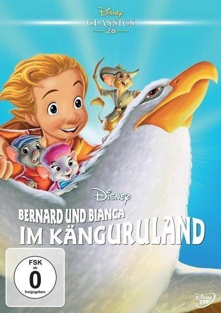 Bernard und Bianca im Känguruland - Jim Cox, Karey Kirkpatrick, Byron Simpson, Joe Ranft, Margery Sharp