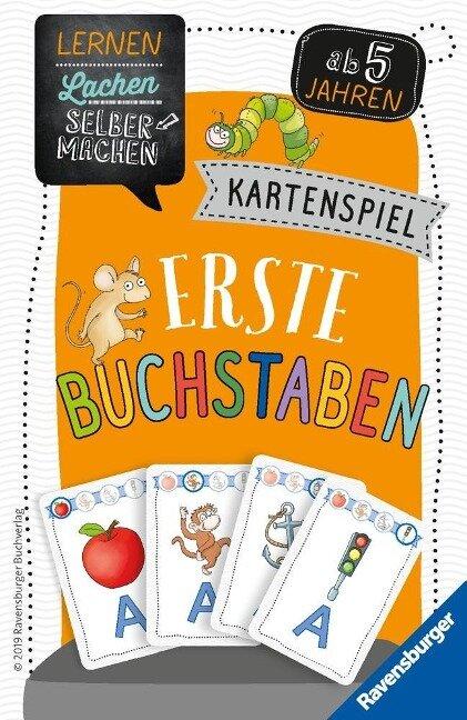 Kartenspiel Erste Buchstaben - Sybille Siegmund