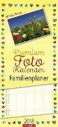 Premium Fotokalender Familienplaner 2018 Herz -