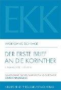 Der erste Brief an die Korinther - Wolfgang Schrage