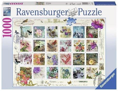 Briefmarkensammlung. Puzzle 1000 Teile -
