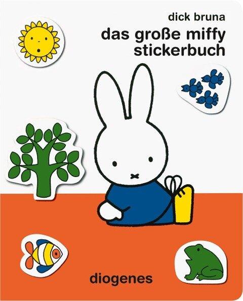 Das große Miffy Stickerbuch - Dick Bruna