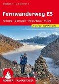 Fernwanderweg E5 Konstanz ¿ Oberstdorf ¿ Meran/Bozen ¿ Verona - Dirk Steuerwald, Stephan Baur
