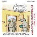 Wassermann Minikalender 2019 -