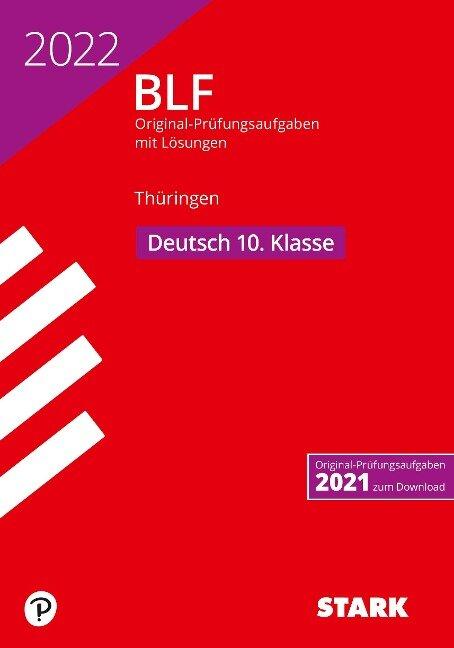 STARK BLF 2022 - Deutsch 10. Klasse - Thüringen -