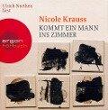 Kommt ein Mann ins Zimmer. 7 CDs - Nicole Krauss