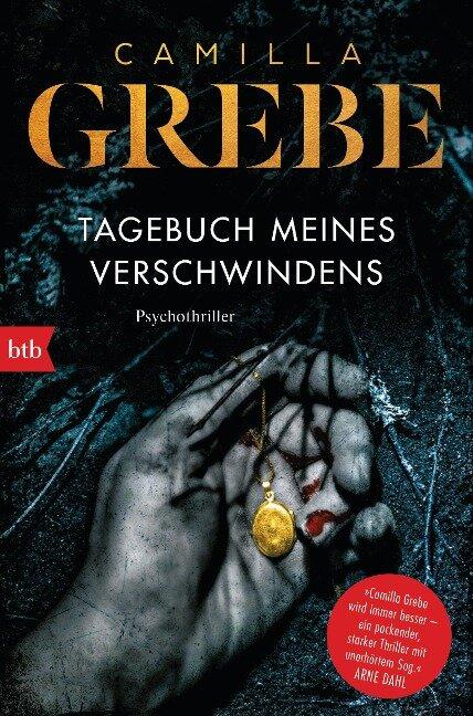 Tagebuch meines Verschwindens - Camilla Grebe
