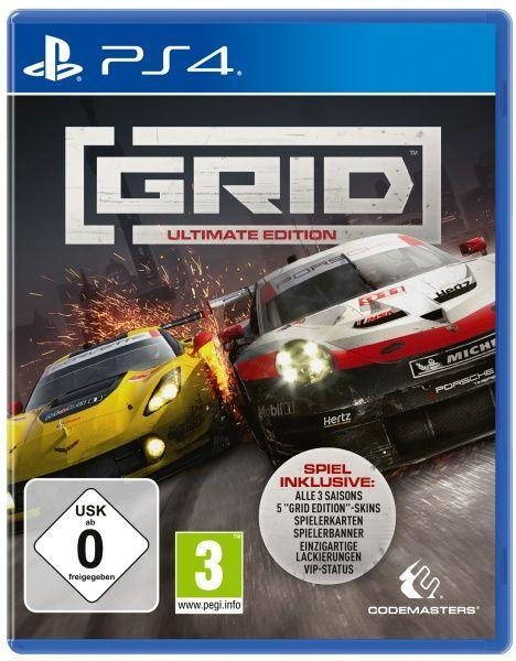 GRID ULTIMATE EDITION (PlayStation PS4) -