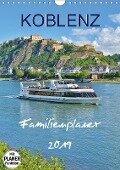 Koblenz Familienplaner (Wandkalender 2019 DIN A4 hoch) - Jutta Heußlein
