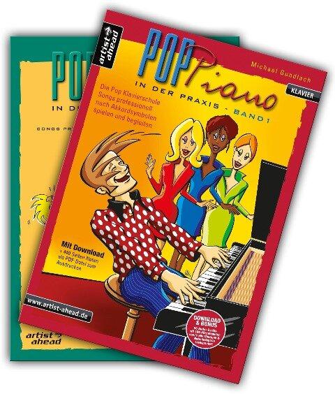 Pop-Piano in der Praxis - Band 1 & 2 - Set - Michael Gundlach