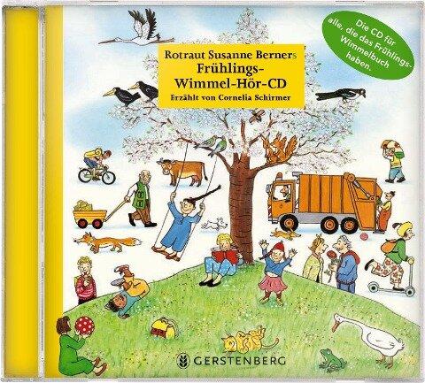 Frühlings-Wimmel-Hör-CD - Rotraut Susanne Berner, Wolfgang von Henko, Ebi Naumann