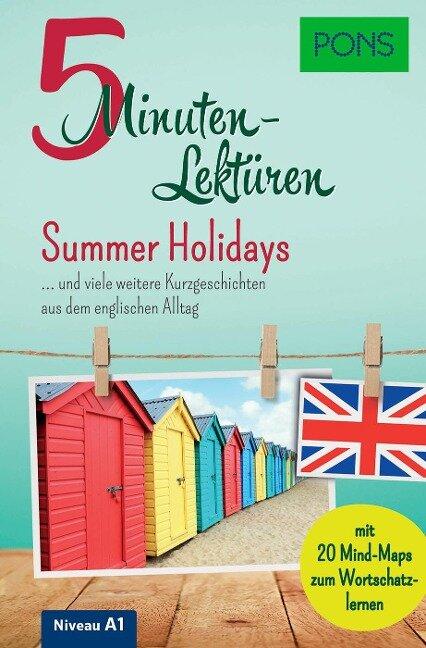 PONS 5-Minuten-Lektüren Englisch A1 - Summer Holidays -